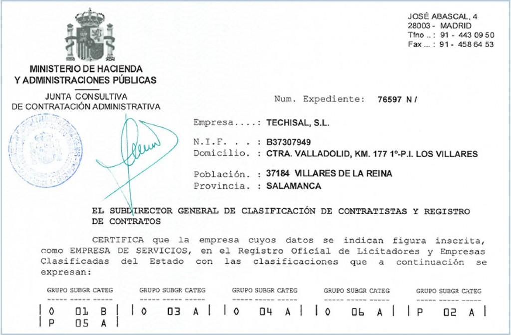 certificado dos